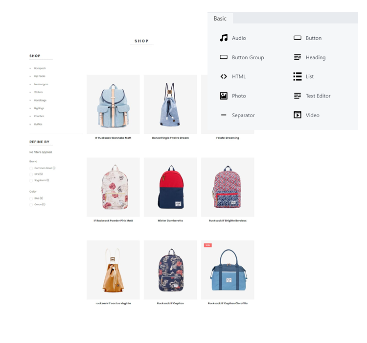 use the Anzili online shop builder to build an online store for your business and sell online